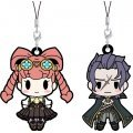 D4 Dai Gyakuten Saiban Rubber Strap Collection (Set of 6 pieces)