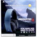 PlayStation Gold Wireless Headset - Gray Blue (Uncharted 4 Limited Edition)