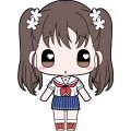 High School Fleet Moekko Trading Acrylic Strap (Set of 10 pieces)