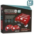 SNES/ Genesis/ NES Hyperkin RetroN 3 Gaming Console 2.4 GHz Edition (Laser Red)
