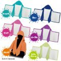 Splatoon Squid Legs Hooded Towel (Turquoise)