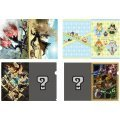 Monster Hunter XX A4 Clear File Set (Set of 4 pieces)