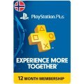 PSN Card 12 Month | Playstation Plus Norway digital