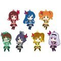 Nendoroid Plus Collectible Rubber Straps: The Idolm@ster 765PRO ALLSTARS Revolution Night A (Set of 7 pieces)