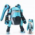 35 Mechatro WeGo 1/35 Scale Pre-Painted Figure: Mechatro WeGo & Hatsune Miku