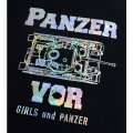 Girls Und Panzer Der Film - Pz. Kpfw. IV Hologram Print T-shirt (Ladies XL Size)