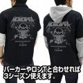 Overlord Momonga / Ainz Patch Base Work Shirt Black (XL Size)