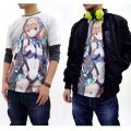 Expelled From Paradise Angela Full Graphic T-shirt White (S Size)