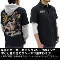 Infinite Stratos Huang Lingyin Full Color Work Shirt Nose Art Ver. Black (M Size)