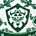 Legend Of Zelda T-shirt White (L Size)