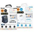 Xpower WC3Q3 3 Port 7.8A Smart Travel Quick Charger 3.0 (Black)