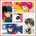 Ranma 1/2 Mini Towel With Gum (Set of 8 pieces)