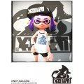 Splatoon 2 King Flip Mesh Cap Blue