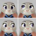 Figure Complex Movie Revo Series No. 008 Zootopia: Judy Hopps (Re-run)