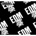 Pop Team Epic - Edm All Print T-shirt Black (XL Size)