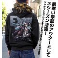 No Game No Life Zero - Schwi Full Color Zippered Hoodie Black (L Size)