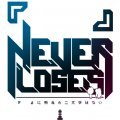 No Game No Life - Never Loses Message T-shirt White (S Size)