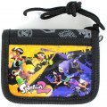 Splatoon 2 RF Wallet Black - SPT-563
