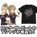 The Idolm@ster Cinderella Girls - Rock The Beat T-shirt Black (S Size)