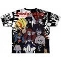 Zombie Land Saga - Franchouchou Double-sided Full Graphic T-shirt (M Size)