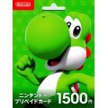 Nintendo eShop Card 1500 YEN | Japan Account digital