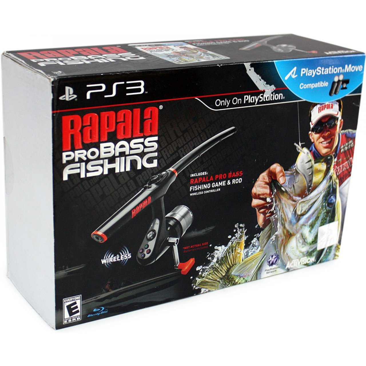 Rapala pro bass fishing bundle for Ps4 bass fishing games