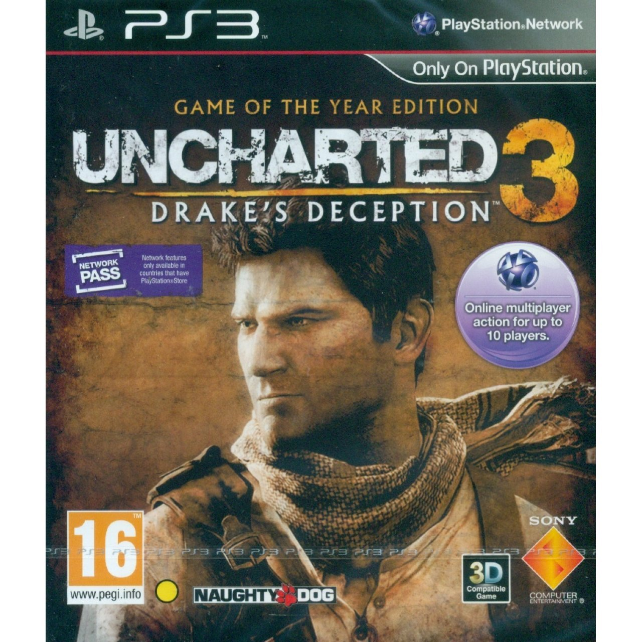 Uncharted 3: Drake's Deception (Game of the Year)
