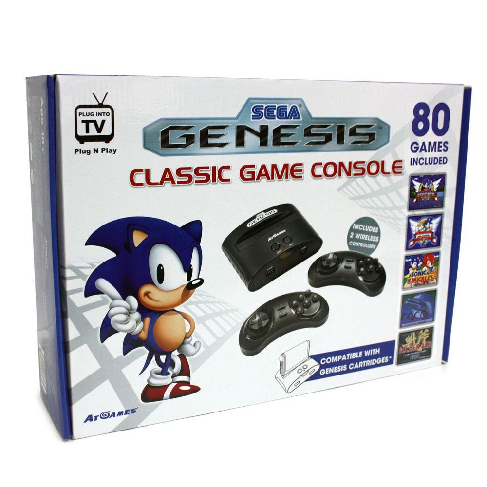 At games sega genesis classic game console - Sega genesis classic console with 80 built in games ...