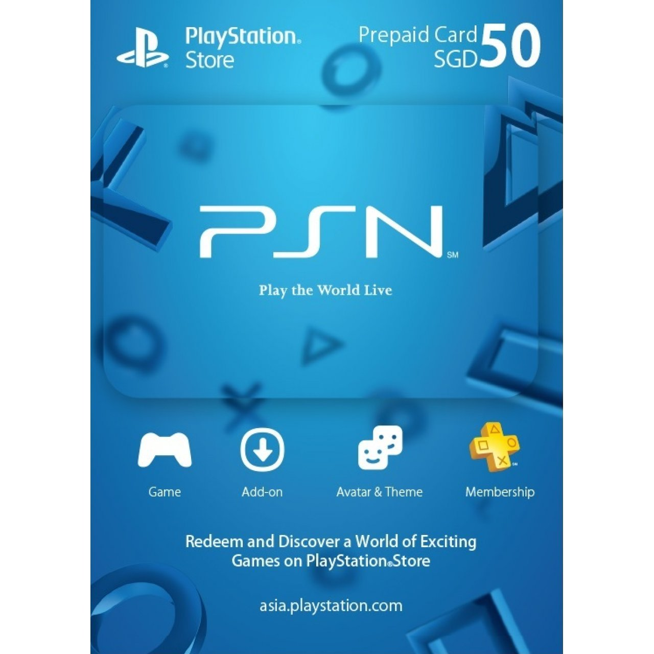 Buy Digital Codes for PSN, Xbox Live, Nintendo eShop, iTunes