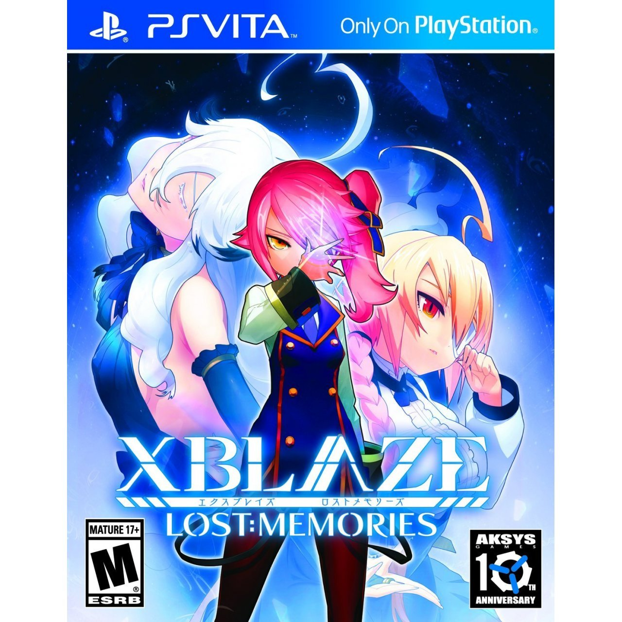 XBLAZE: LOST MEMORIES for PS Vita