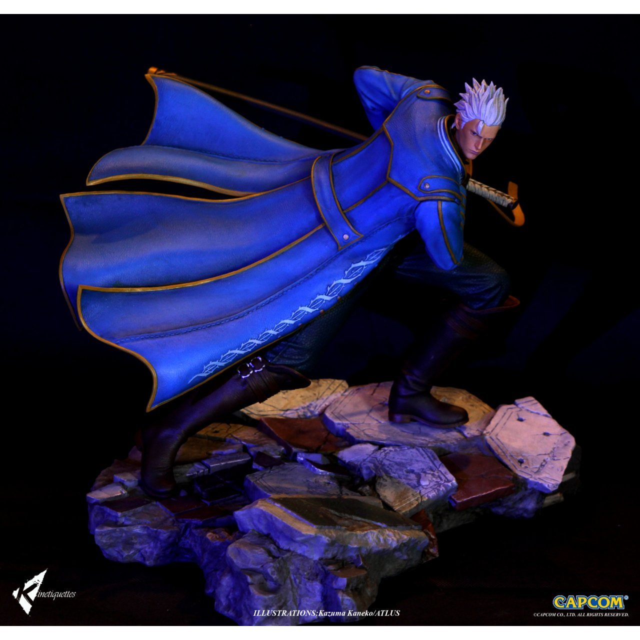 Devil May Cry 4 1 6 Scale Diorama Sons Of Sparda Vergil