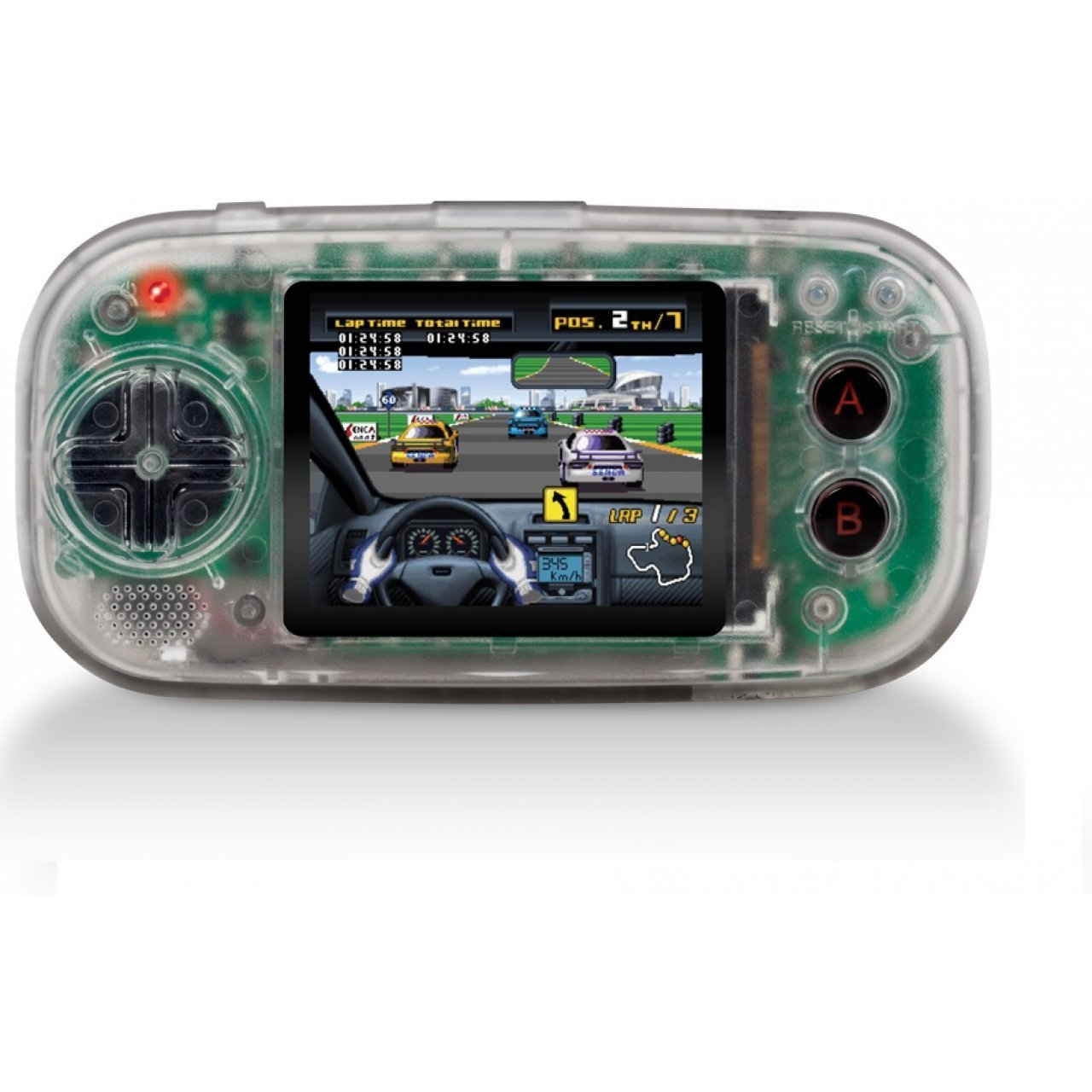 Gamer X Portable Gaming System (Clear)