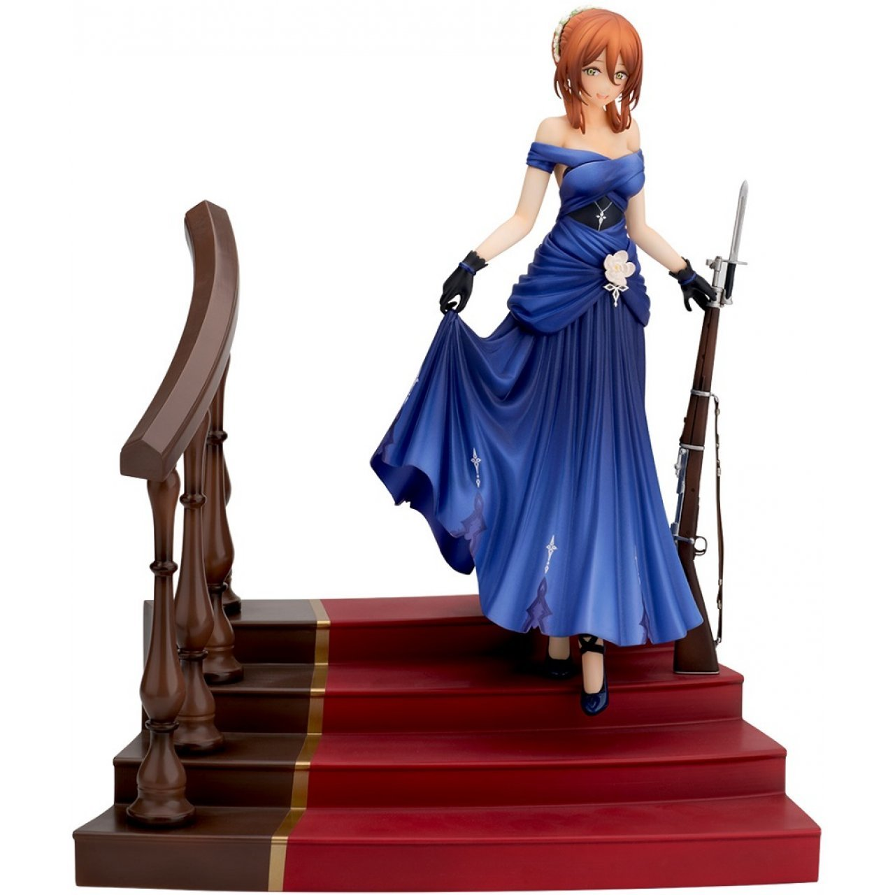 6b5c26183a Girls' Frontline 1/8 Scale Pre-Painted Figure: Springfield Queen Under ...