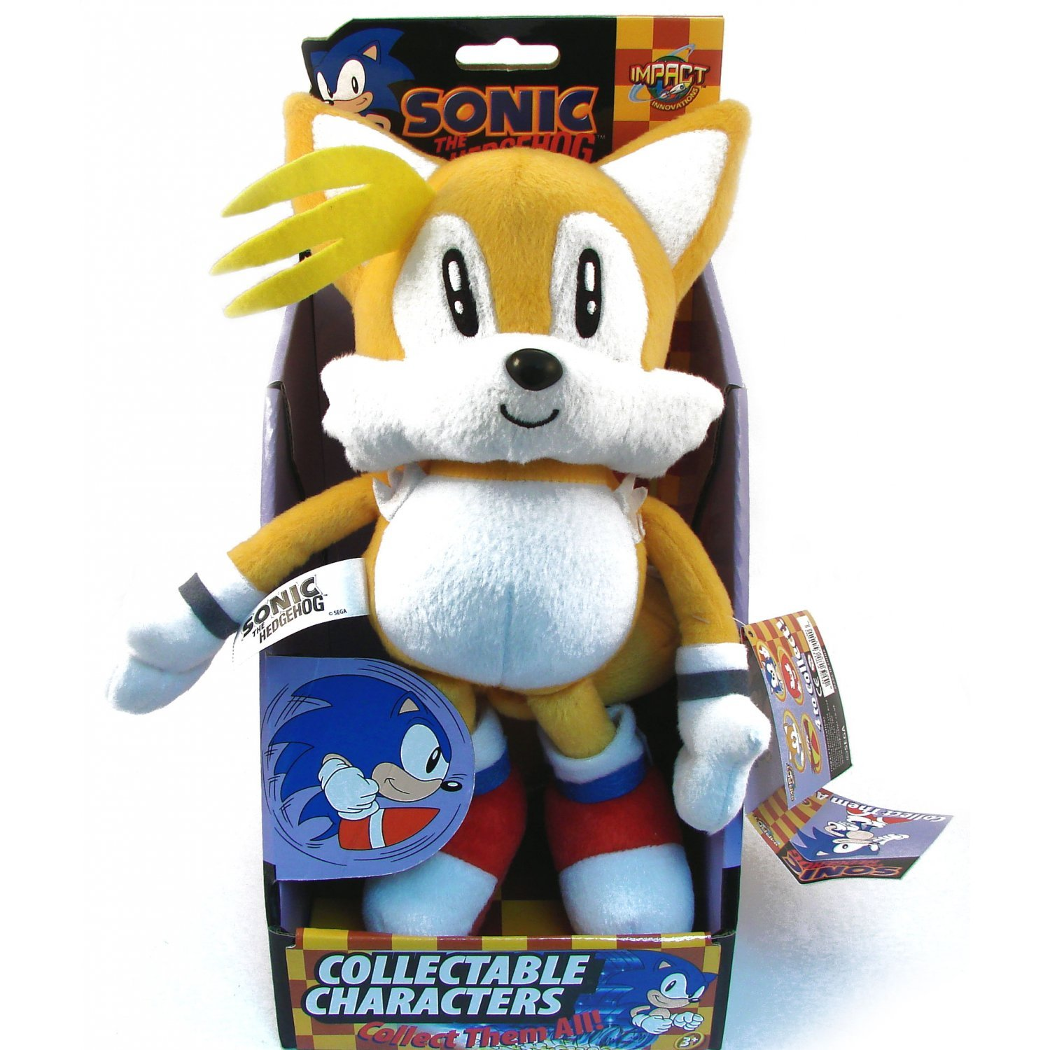 Classic Sonic The Hedgehog Plush Doll Tails