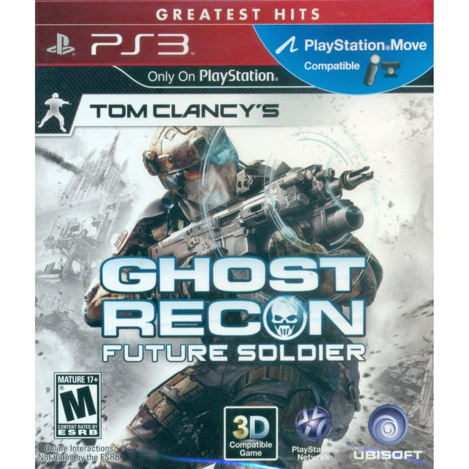 tom clancy's ghost recon: future soldier (greatest hits)