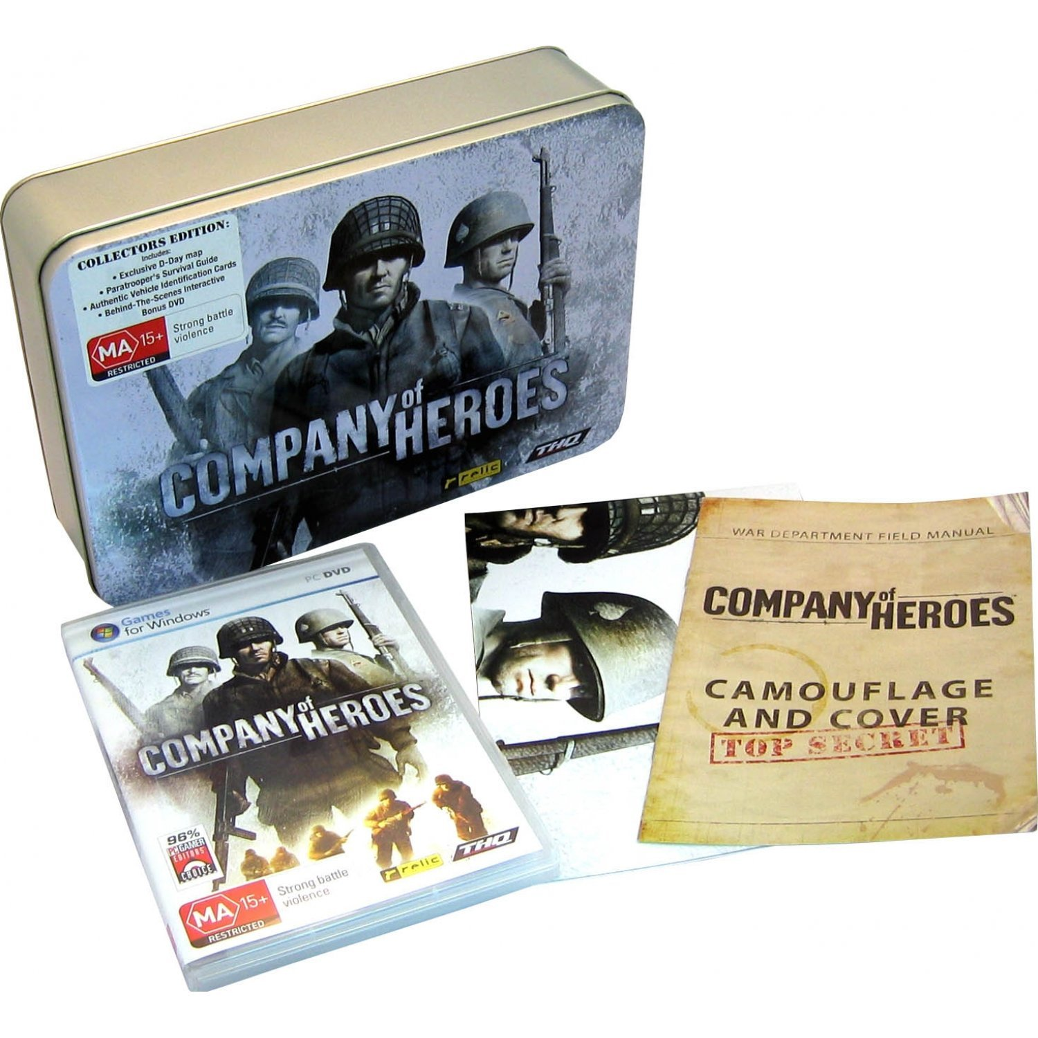 Company Of Heroes Collector S Edition Dvd Rom