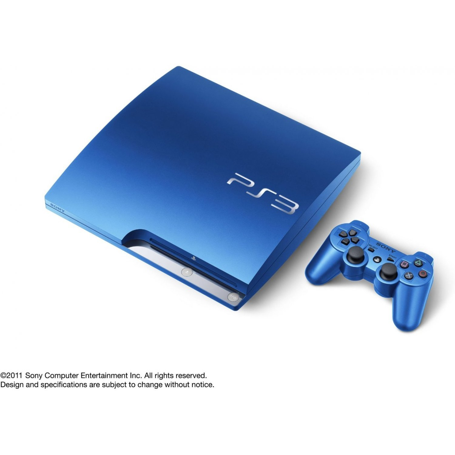 Playstation3 Slim Console Hdd 320gb Splash Blue Model 110v