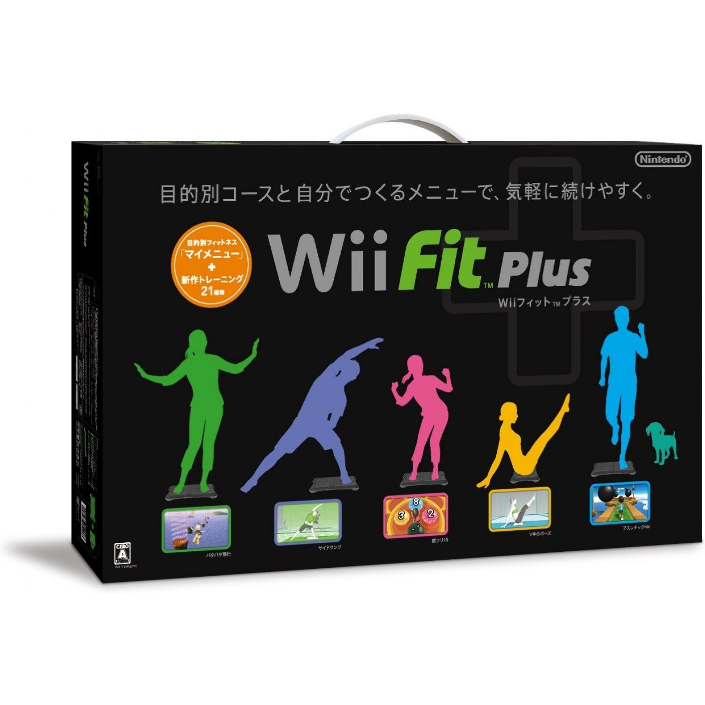 Balance Board Xbox One: Wii Fit Plus (w/ Wii Board Black