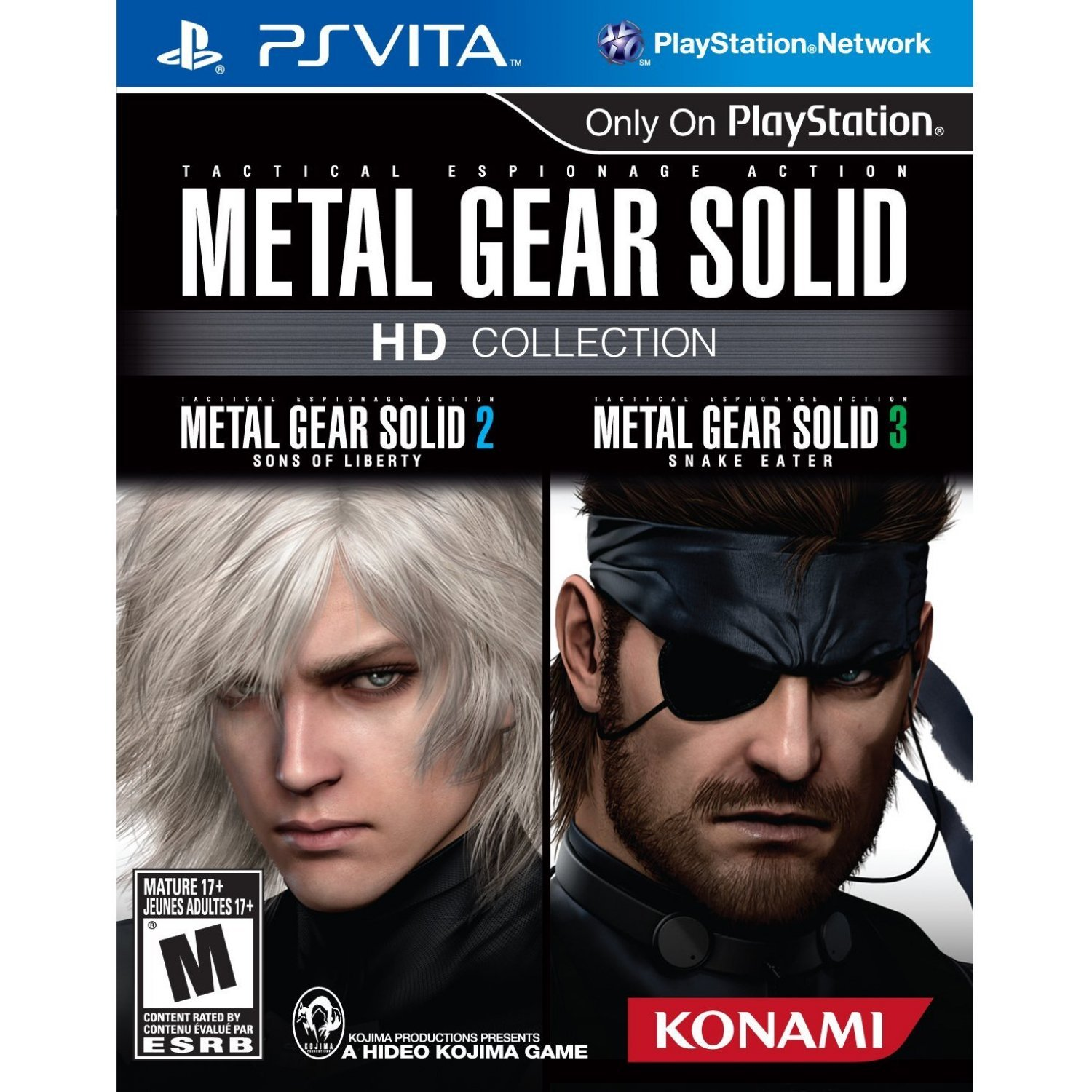 Metal Gear Solid HD Collection (PS3 / PlayStation 3) Game