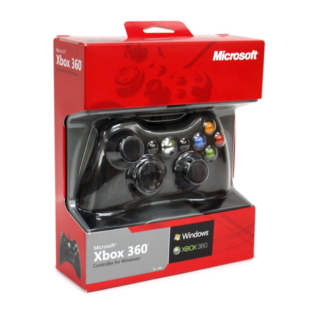 Microsoft xbox 360 wired controller for windows & xbox 360 black.