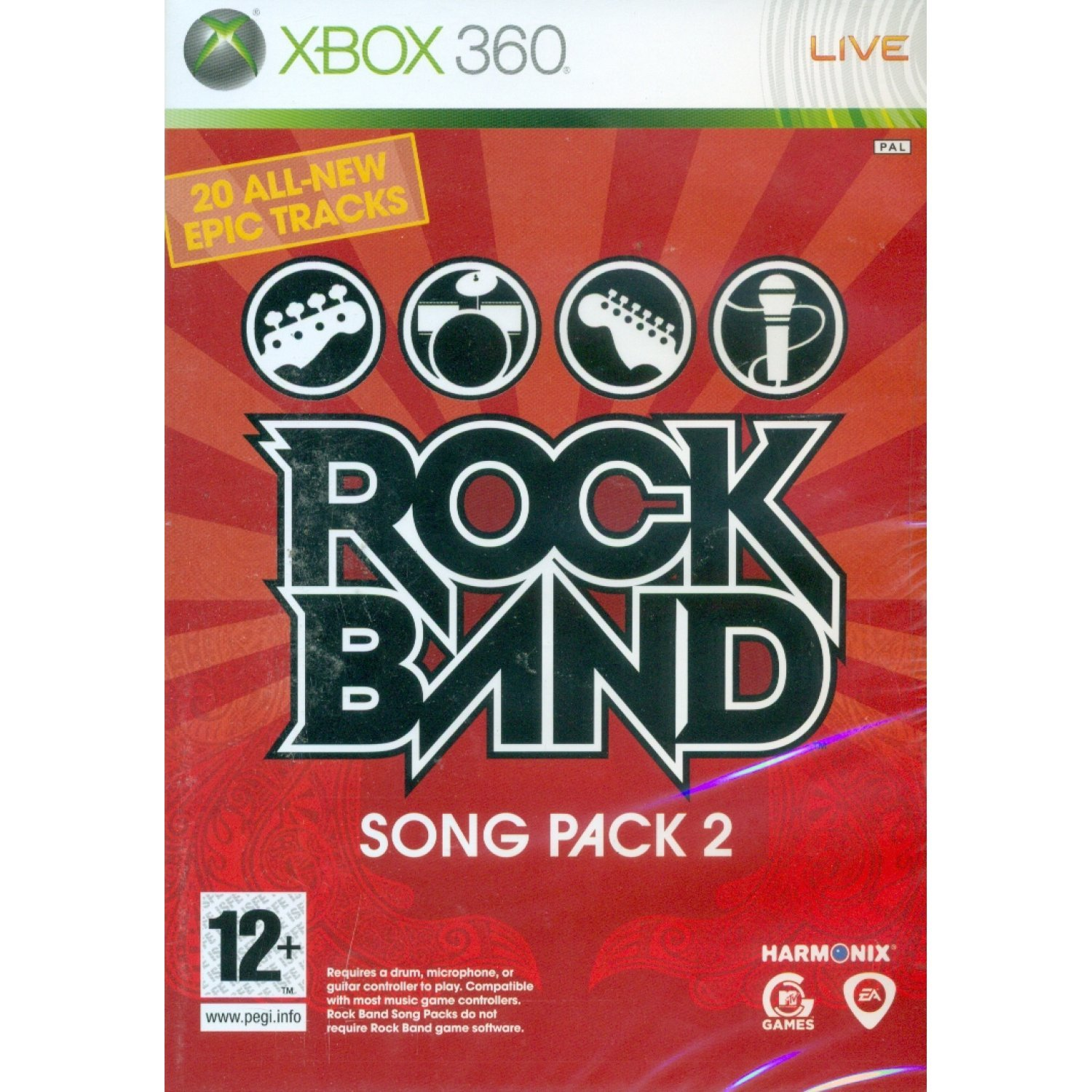 Rock Band Song Pack 2 2328012o36p2i