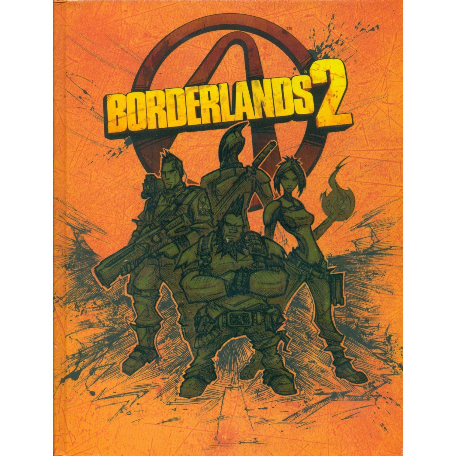 High-quality borderlands 2 limited edition strategy guide.