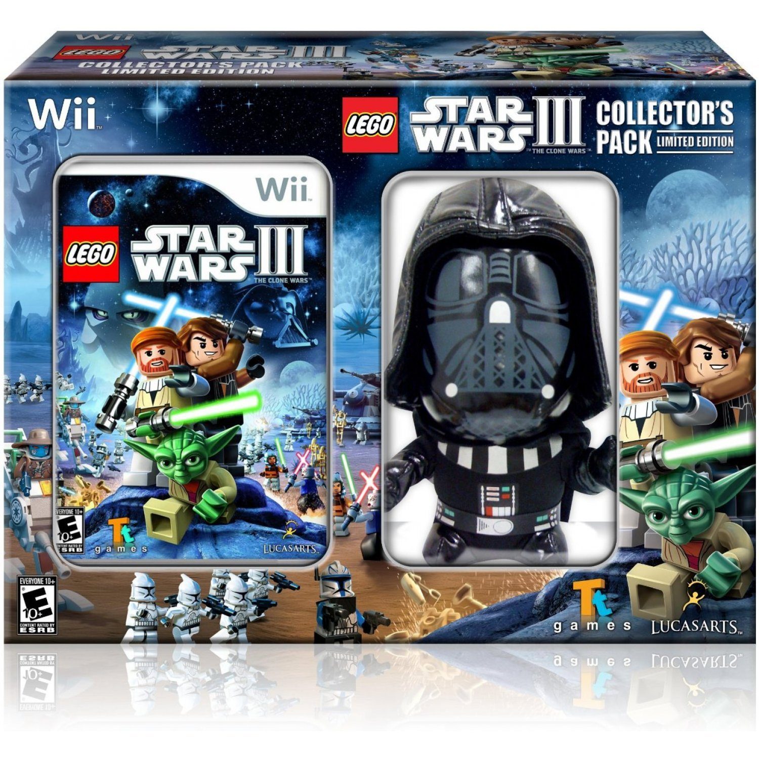 lego star wars iii the clone wars collector 39 s pack. Black Bedroom Furniture Sets. Home Design Ideas