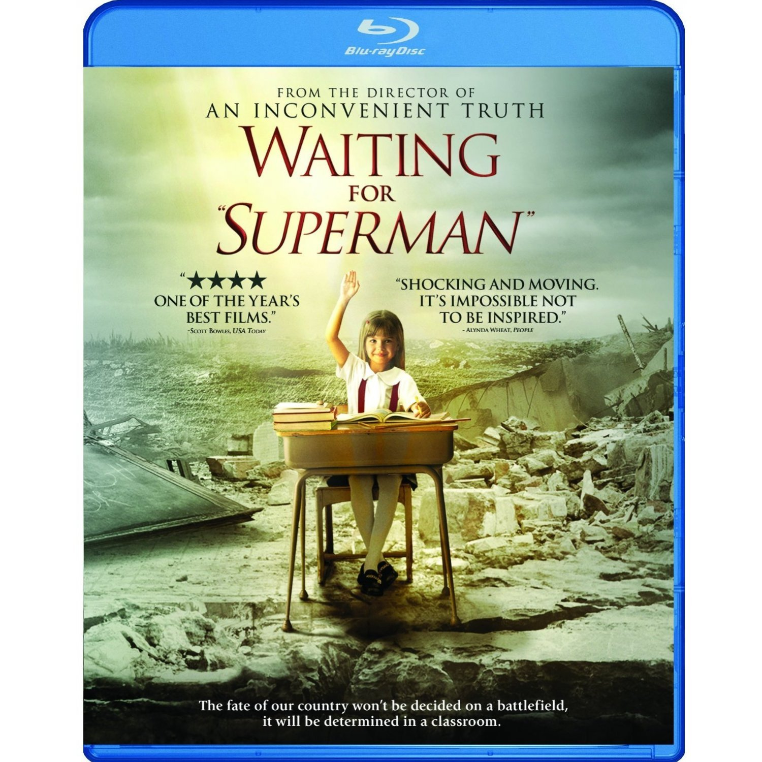 a literary analysis of waiting for superman At one of man and superman is the start of the story character and theme analysis of man and superman do you know the literary character who's been.