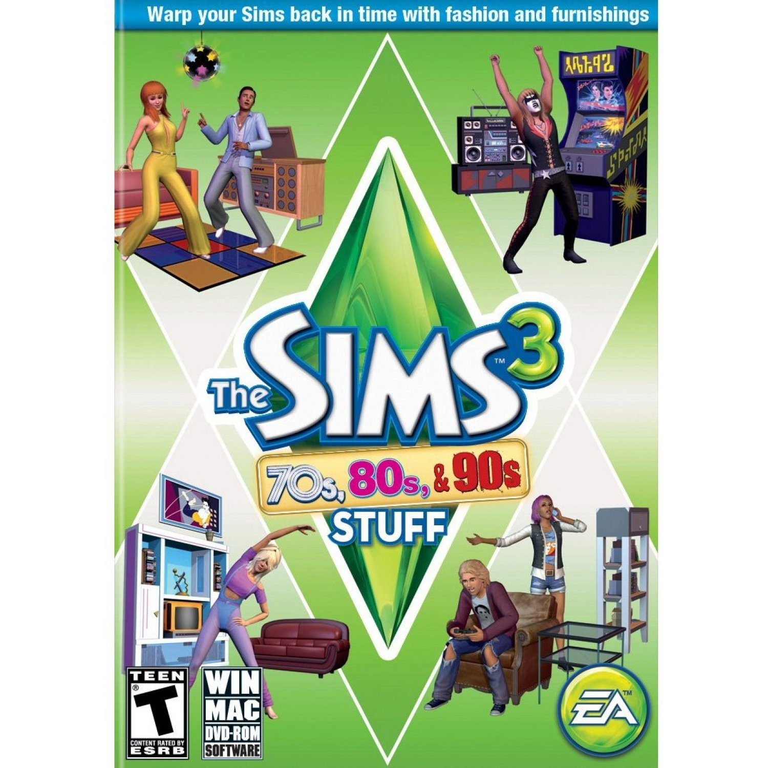 The Sims 3: 70s, 80s, & 90s Stuff Pack (DVD-ROM)