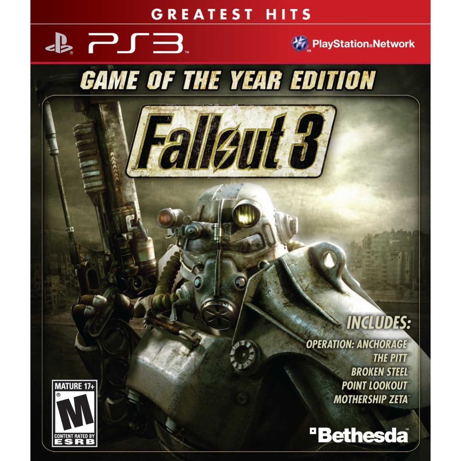 fallout 3 game of the year edition greatest hits