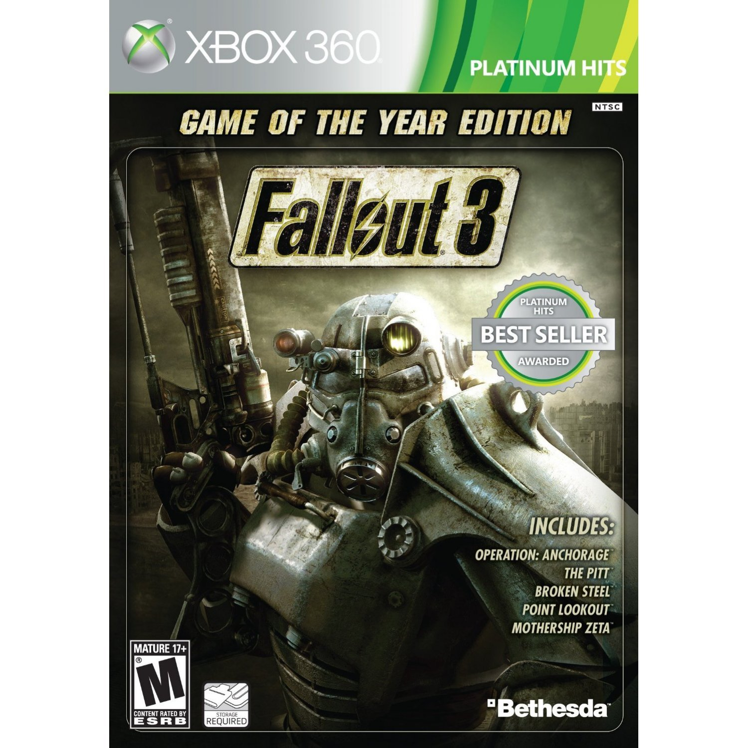 Fallout 3 Game Of The Year Edition Xbox One Disc 2 ...