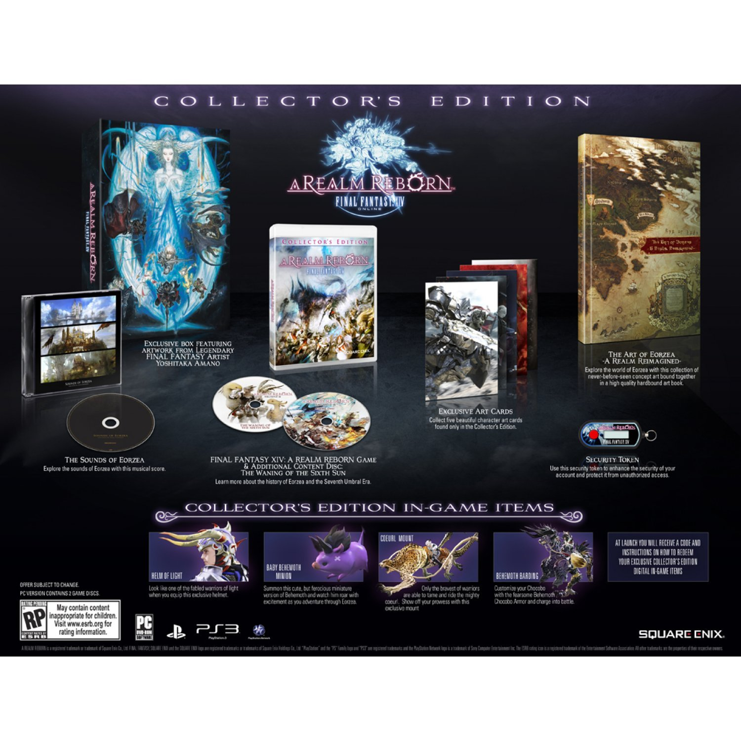 Final Fantasy XIV: A Realm Reborn (Collector's Edition) (DVD-ROM)