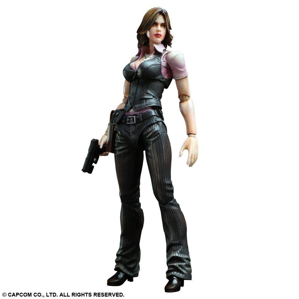 Resident Evil 6 Play Arts Kai Non Scale Pre Painted Pvc Figure Helena Harper