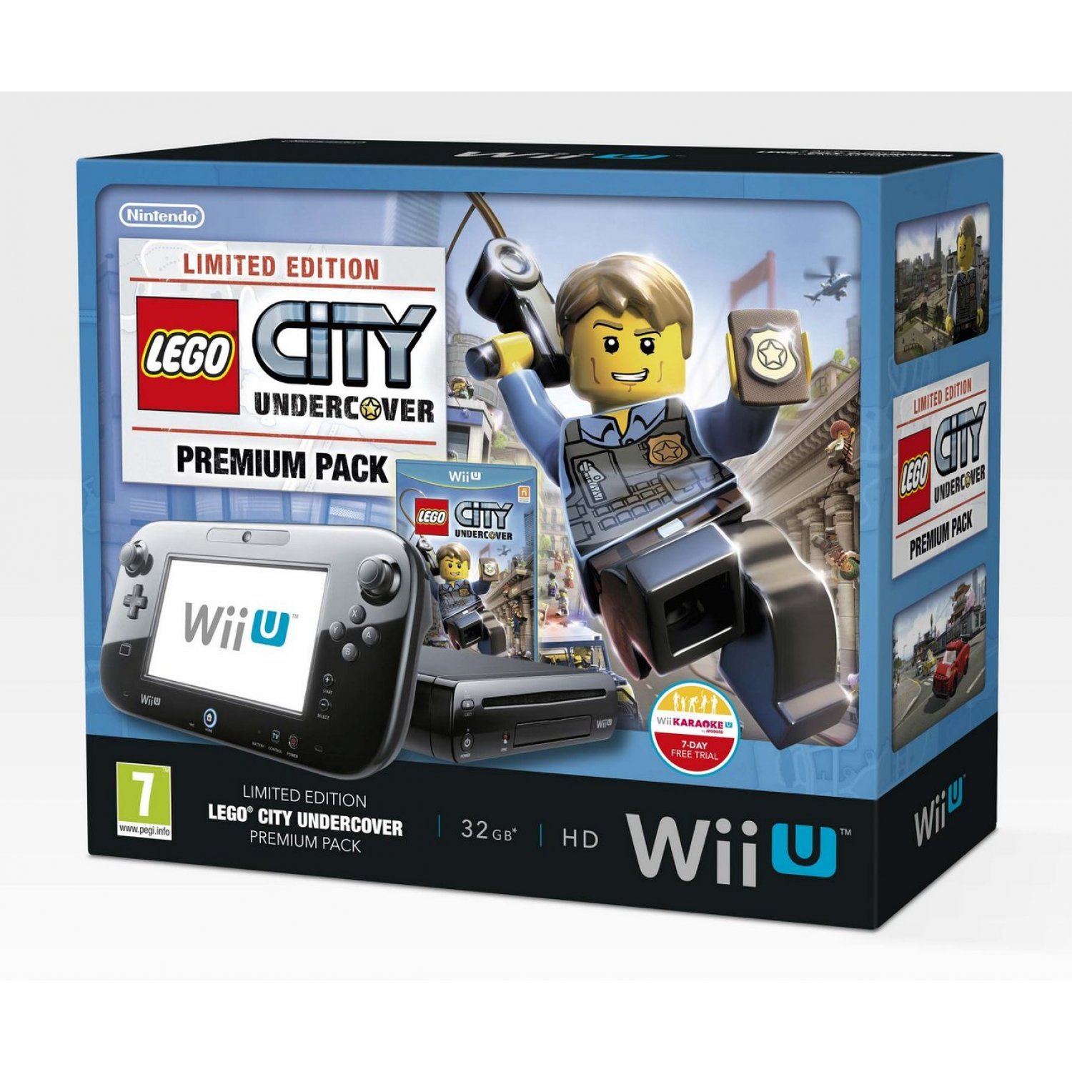 wii u limited edition lego city undercover premium pack. Black Bedroom Furniture Sets. Home Design Ideas